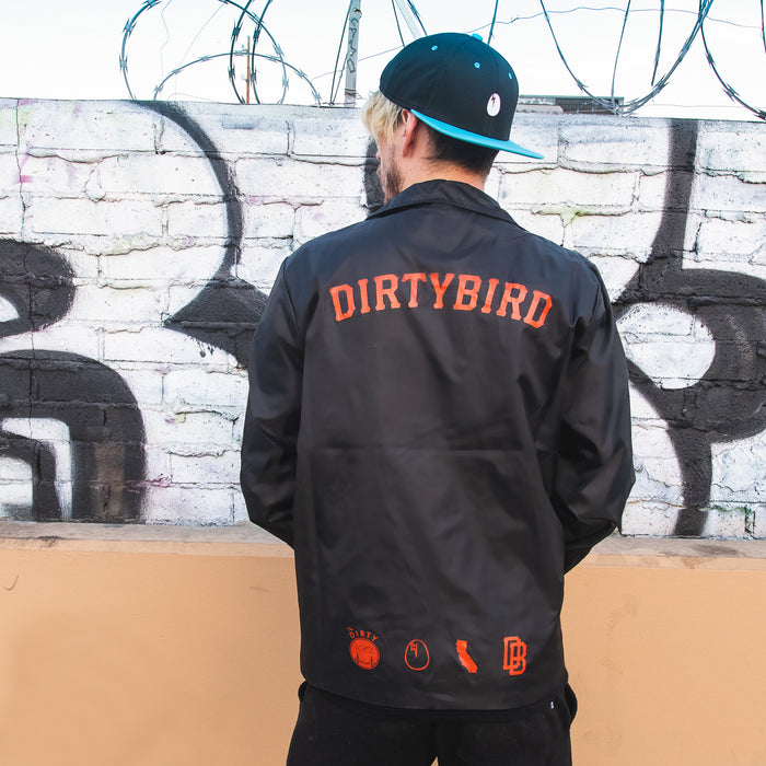Dirtybird Red Coaches Jacket