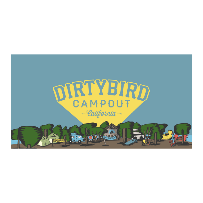 Dirtybird Campout West Towel