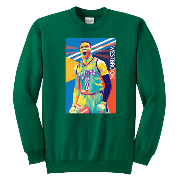 Russell Westbrook Pop Art Youth Sweatshirt