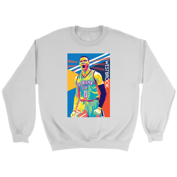 Russell Westbrook Pop Art Sweatshirt