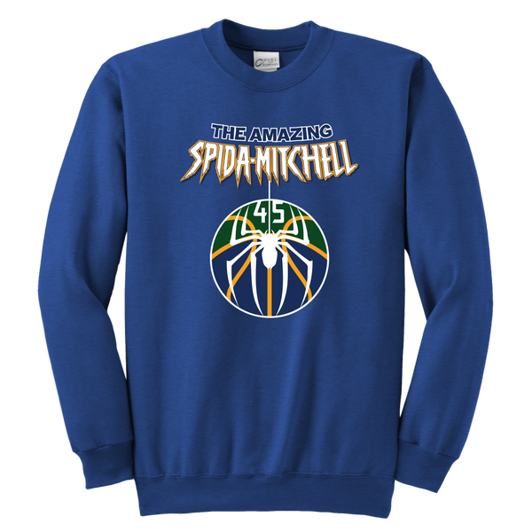 The Amazing Spida-Mitchell Youth Sweatshirt