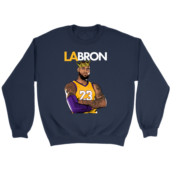 LA-BRON Lebron Graphic Sweatshirt
