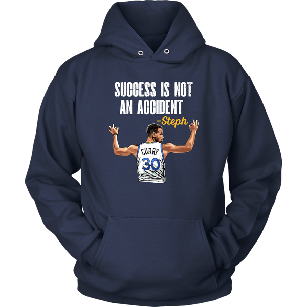 Steph Curry 'Success Is Not An Accident' Hoodie