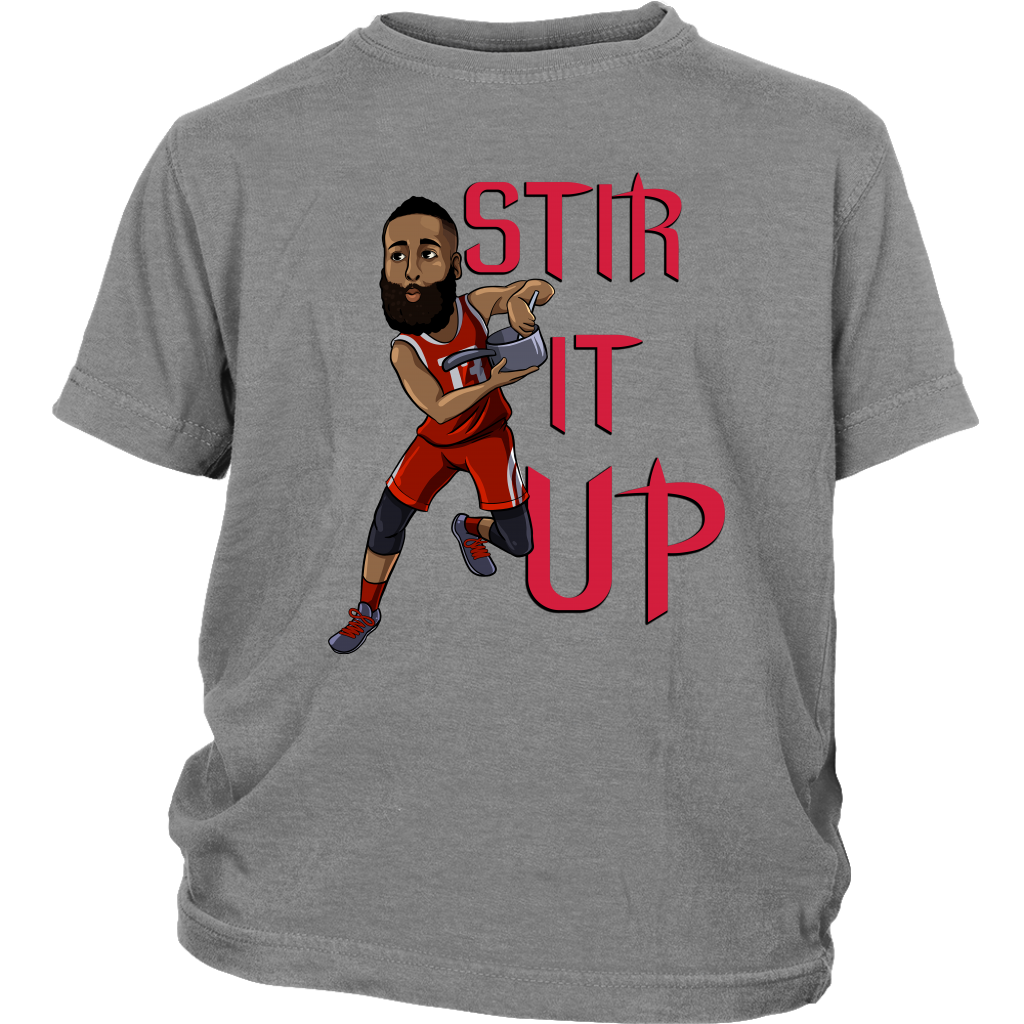 on sale b5725 0ad17 James Harden 'Stir It Up' Youth T-Shirt