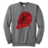 Harden Houston Map Silhouette Youth Sweatshirt