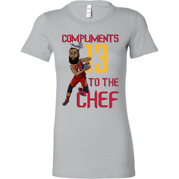 James Harden 'Compliments to the Chef' Women's T-Shirt