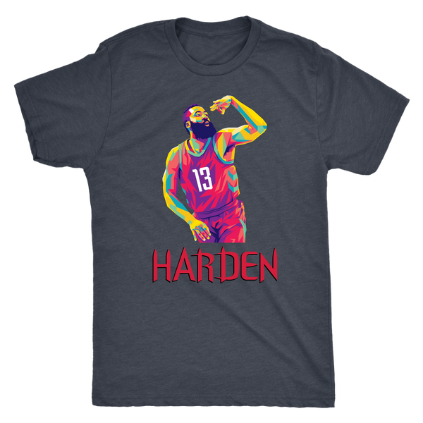 Harden Pop Art Triblend T-Shirt