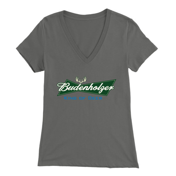 Budenholzer - King Of Deer Women's V-Neck