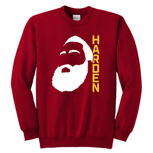 Harden Beard Outline Youth Sweatshirt