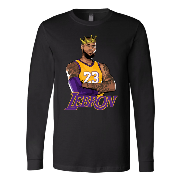 Lebron Logo Long Sleeve Shirt