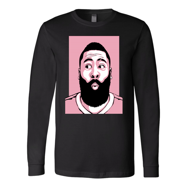 James Harden 'O-Face' Long Sleeve Shirt