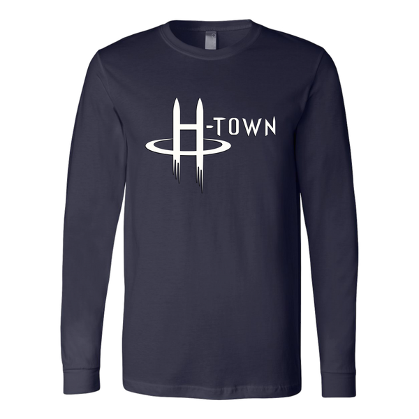 H-Town Logo Style Long Sleeve Shirt