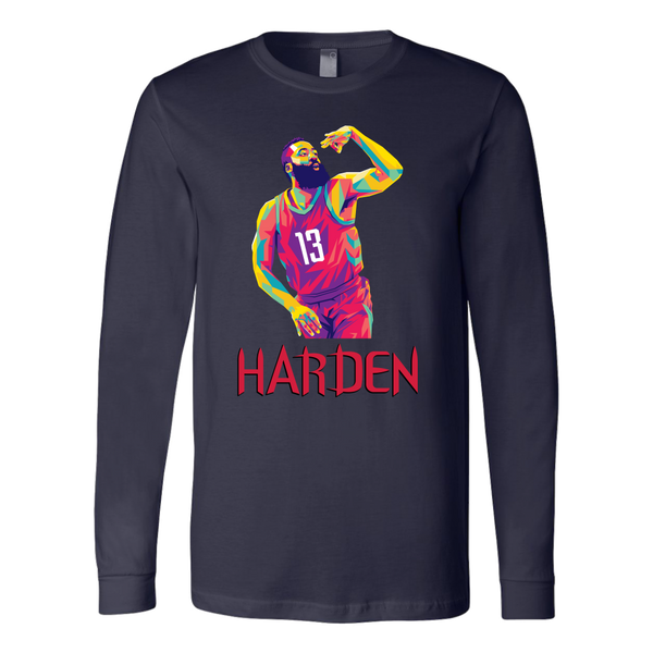 Harden Pop Art Long Sleeve Shirt