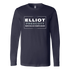 Elliot-Prescott Make Dallas Champs Again Long Sleeve Shirt