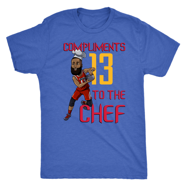 James Harden 'Compliments to the Chef' Triblend T-Shirt
