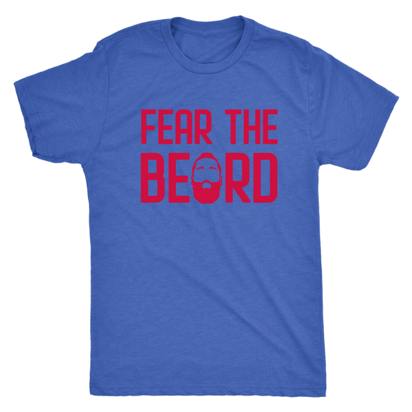Harden Fear The Beard Triblend T-Shirt