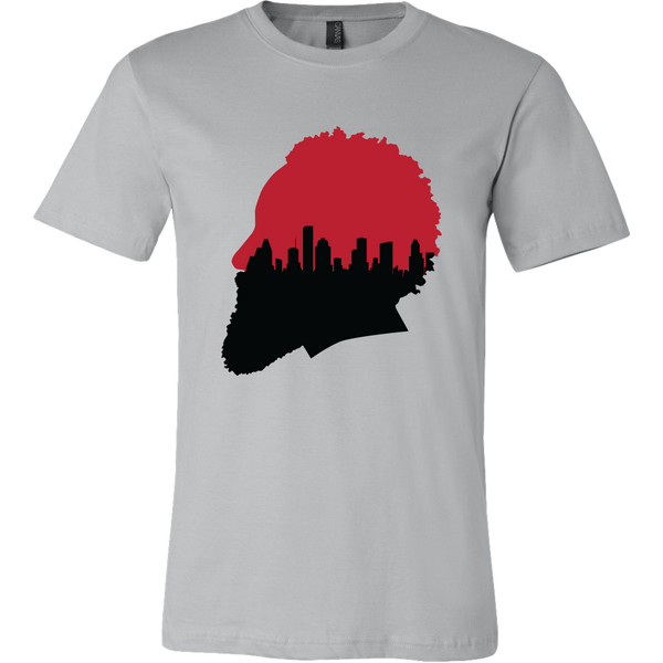 Harden Silhouette with Houston Skyline T-Shirt