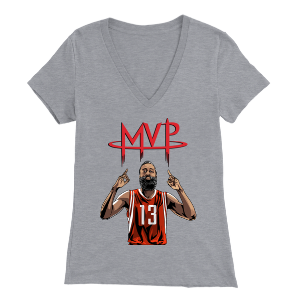 James Harden MVP Graphic Women's V-Neck