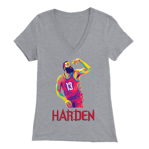 Harden Pop Art Women's V-Neck