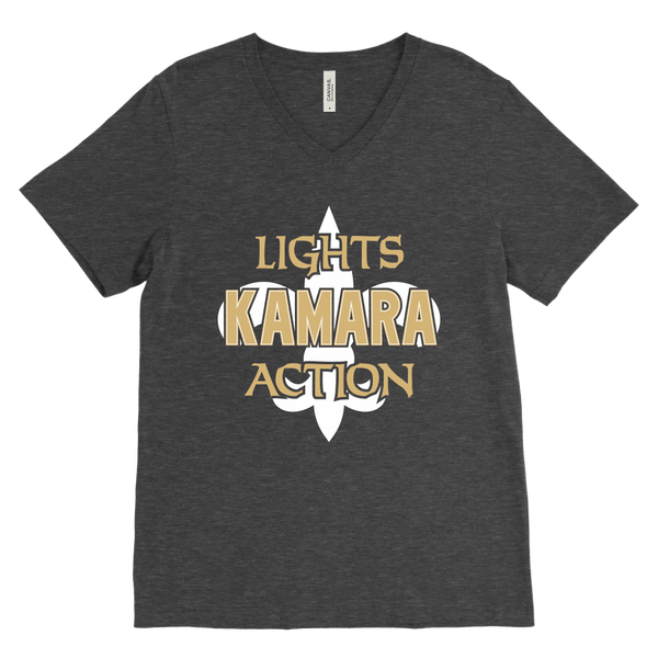 Lights, Kamara, Action V-Neck