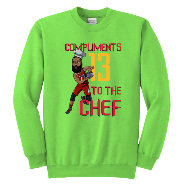 James Harden 'Compliments to the Chef' Youth Sweatshirt