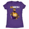 LA-BRON Lebron Graphic Women's Triblend T-Shirt