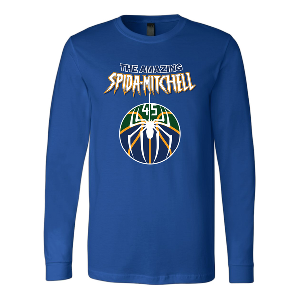 The Amazing Spida-Mitchell Long Sleeve Shirt
