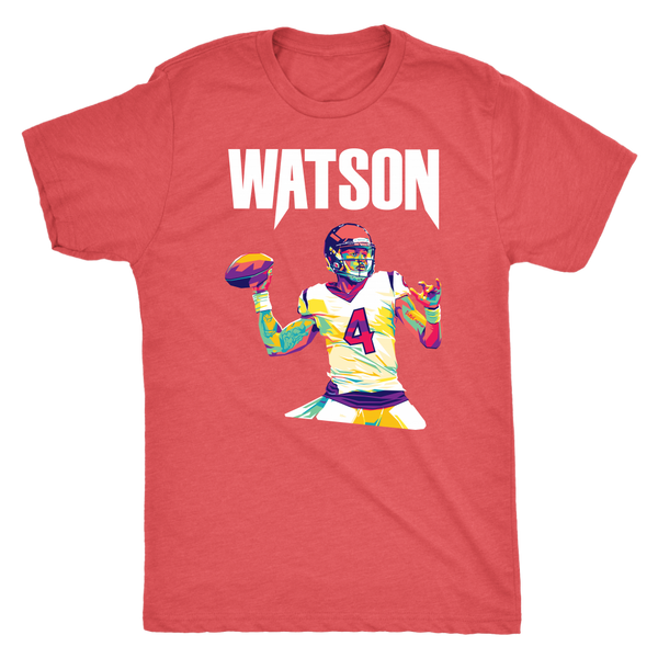 Deshaun Watson Pop Art Triblend T-Shirt