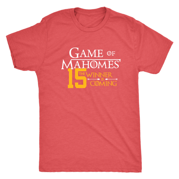 Game of Mahomes Triblend T-Shirt