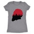 Harden Silhouette with Houston Skyline Women's Triblend T-Shirt