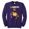 LA-BRON Lebron Graphic Youth Sweatshirt