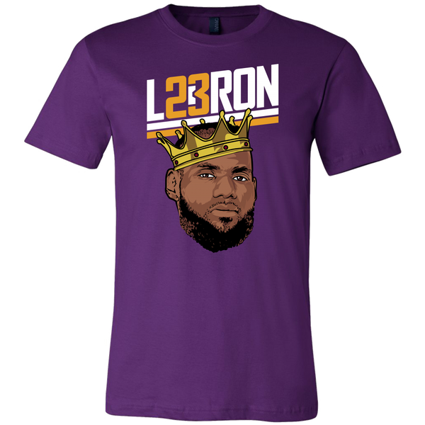 Lebron Face Illustration T-Shirt