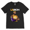 LA-BRON Lebron Graphic V-Neck