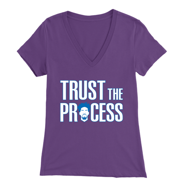 Trust The Process V-Neck T-Shirt
