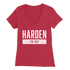 Beto Style Harden For MVP Women's V-Neck