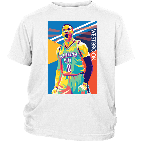 Russell Westbrook Pop Art Youth T-Shirt