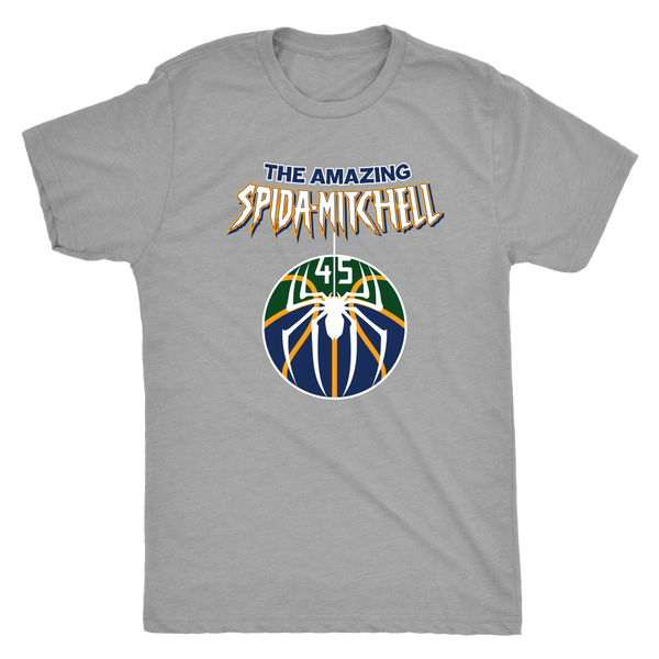 The Amazing Spida-Mitchell Triblend T-Shirt