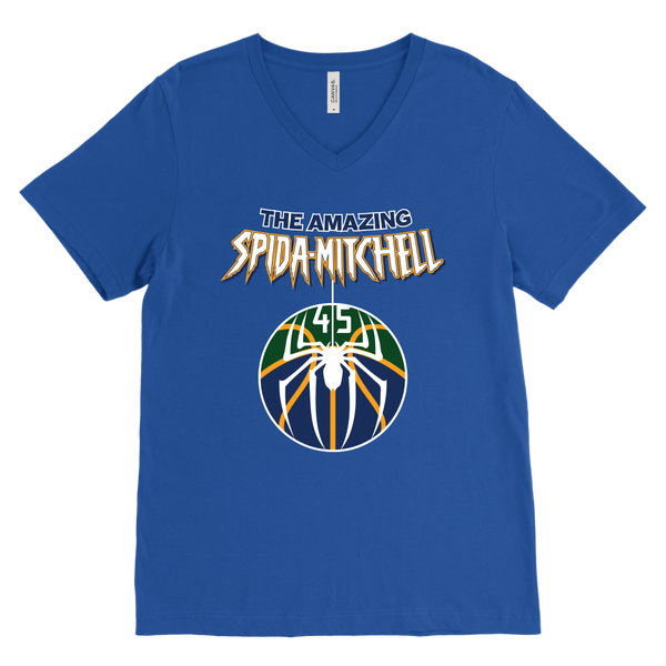 The Amazing Spida-Mitchell V-Neck