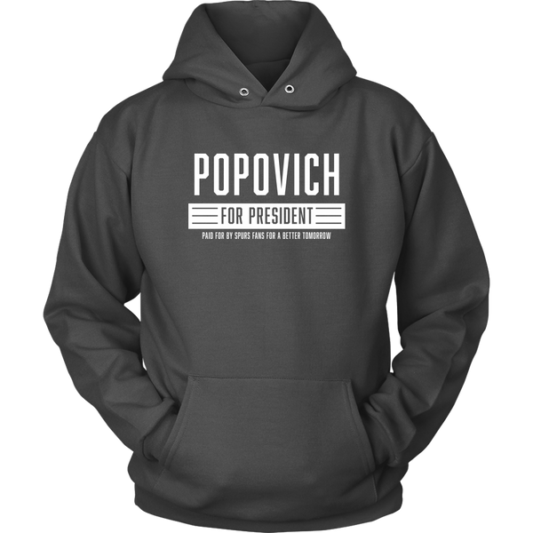 Beto Style Popovich For President Hoodie