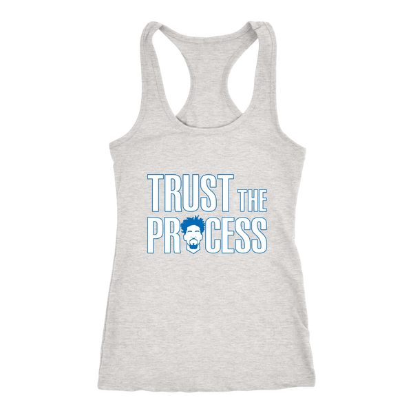 Trust The Process Racerback Tank