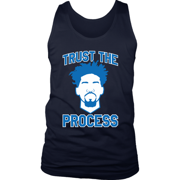 Embiid Trust The Process Tank