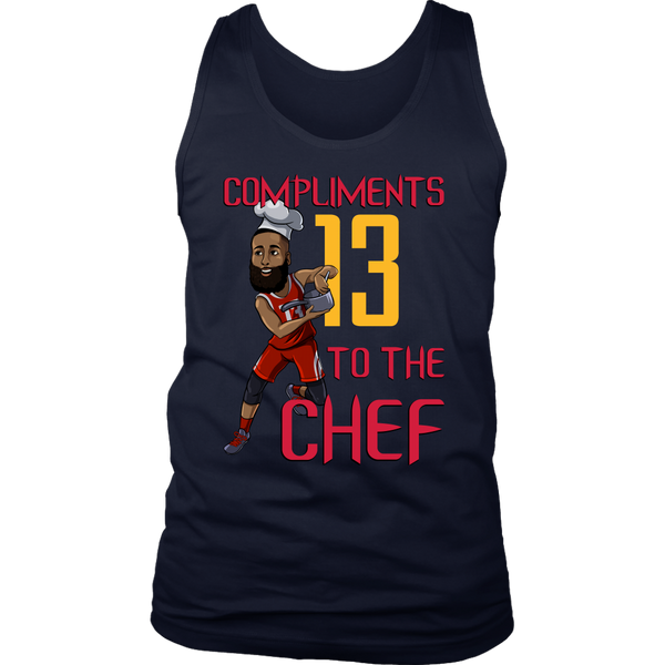 James Harden 'Compliments to the Chef' Tank
