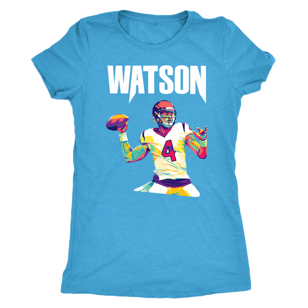 Deshaun Watson Pop Art Women's Triblend T-Shirt