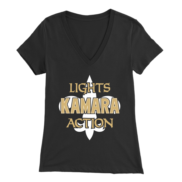 Lights, Kamara, Action Women's V-Neck