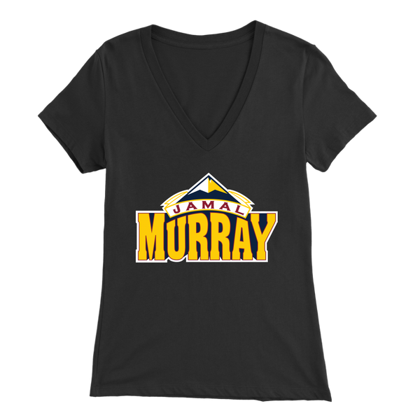 Jamal Murray New Color Logo Women's V-Neck
