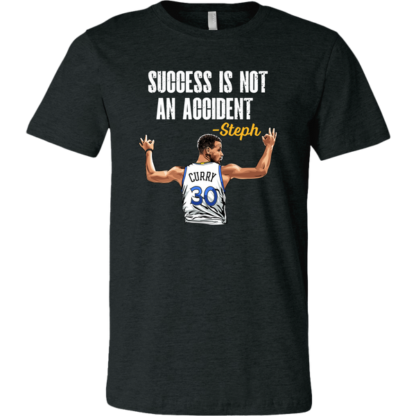 Steph Curry 'Success Is Not An Accident' T-Shirt