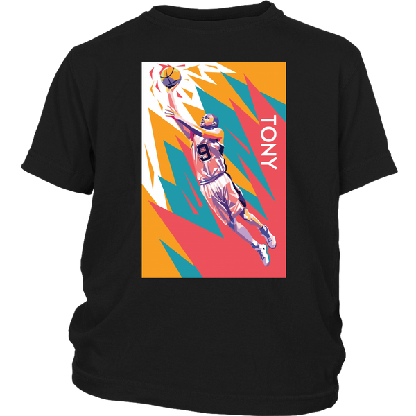Tony Parker Pop Art Youth T-Shirt