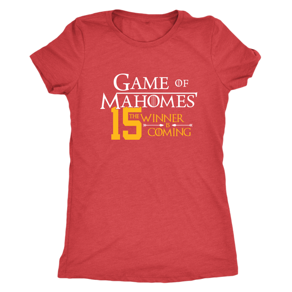 Game of Mahomes Women's Triblend T-Shirt