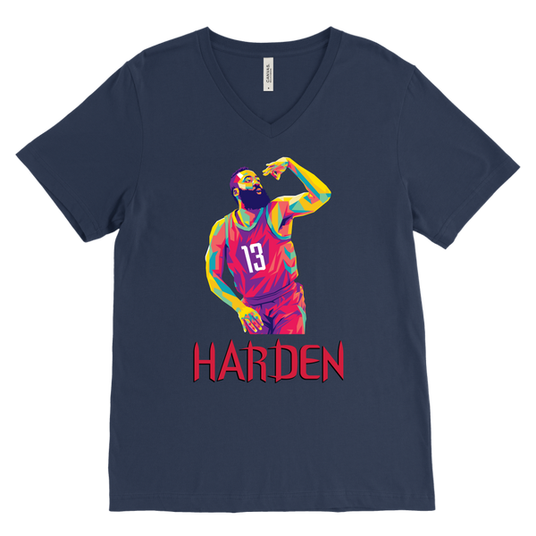 Harden Pop Art V-Neck