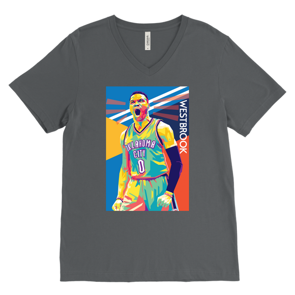 Russell Westbrook Pop Art V-Neck